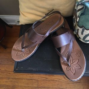Boc by Born brown leather sandals size 11